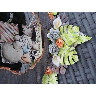 Joy!Crafts / Jeanine´s Art, Hobby Solutions Dies /  Ponsen en embossingmal Joy Crafts, bladeren