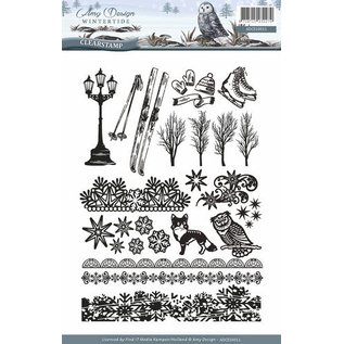 AMY DESIGN AMY DESIGN, timbre transparent: nature, avec 24 timbres magnifiques