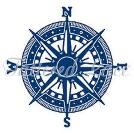 Tattered Lace Skæring og prægning skabelon: Kompas