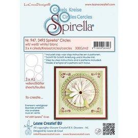 Leane Creatief - Lea'bilities und By Lene Stanzbogen, 12 circles, 4 sizes, instructions and 6 patterns