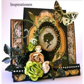 Designer Papier Scrapbooking: 30,5 x 30,5 cm Papier selo transparente, Silhueta