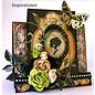 Designer Papier Scrapbooking: 30,5 x 30,5 cm Papier Transparent Stempel, Silhouette