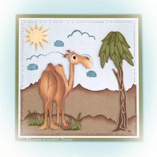 Leane Creatief - Lea'bilities Stanz- und Prägeschablone: Kamel