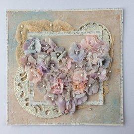 Leane Creatief - Lea'bilities und By Lene Stanzschablonen: Blüten mit Blätter
