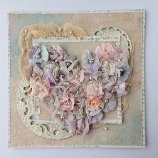 Leane Creatief - Lea'bilities matrices de coupe: fleurs avec des feuilles