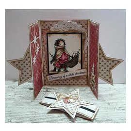 Dutch DooBaDoo A4 máscara de plástico: Cartão da estrela da arte