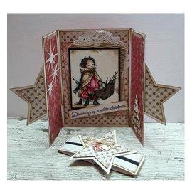 Dutch DooBaDoo A4 plastic masker: Card Art Star