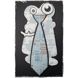 Dutch DooBaDoo A4 máscara de plástico: Cartão Laço da arte