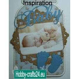 """Nellie Snellen folha de corte A4 Vintage """"Baby"""""""