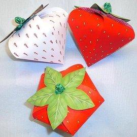 Dutch DooBaDoo A4 máscara de plástico: Tipo de cartão, Set morango