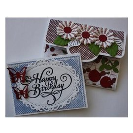 Dutch DooBaDoo A4 Plastik Schablone: Card Art, Envelop Art, Fold Bag