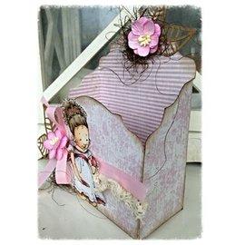 Dutch DooBaDoo A4 plastic template: Box Art Baroque