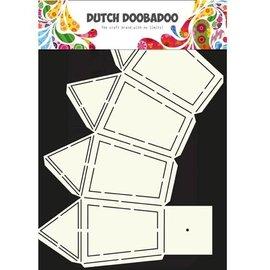 Dutch DooBaDoo A4 plastic template: Box Art Lantern