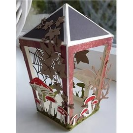 Dutch DooBaDoo A4 masque en plastique: Box Lantern Art