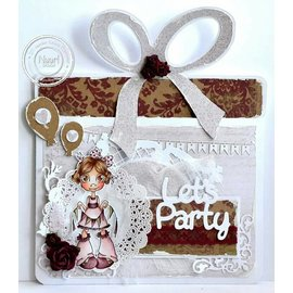 Dutch DooBaDoo A4 plastic template: Box Art Present Set