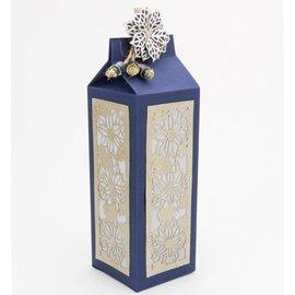 Dutch DooBaDoo A4 máscara de plástico: Art Box Milk Carton
