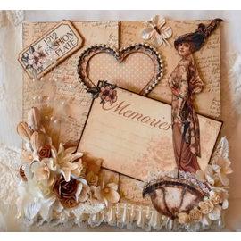 Nellie Snellen template perfuração: Magic Card, Coração