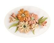 Leane Creatief: Diseño de la flor 3D
