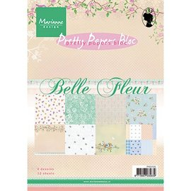 DESIGNER BLÖCKE / DESIGNER PAPER Designer paper, A5, Belle Fleur - back in stock