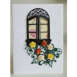 Spellbinders und Rayher Schneide- und Prägeschablone: Fenster