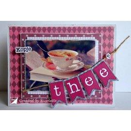 Joy!Crafts / Jeanine´s Art, Hobby Solutions Dies /  découpe et gaufrage modèle: lettre Banners