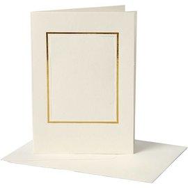 KARTEN und Zubehör / Cards 10 Passepartout Cartes incl. Enveloppes, 220g.