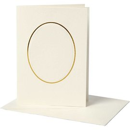 KARTEN und Zubehör / Cards 10 Passepartout Card incl. Buste, 220g. - Copy
