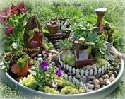Dekoration: Mini Garten gestalten