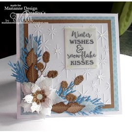 Marianne Design Punching and embossing template: Petra's Twigs Sets