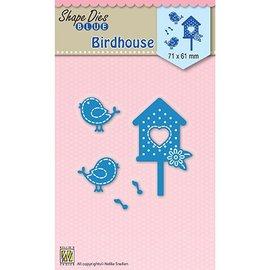 Nellie Snellen Stanzschablone: Birdhouse