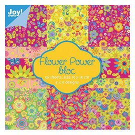 Joy!Crafts / Jeanine´s Art, Hobby Solutions Dies /  Bloc de papier Flower Power