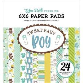 DESIGNER BLÖCKE / DESIGNER PAPER Papir pad, søde baby dreng