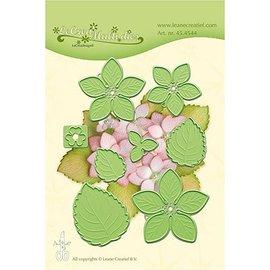 Leane Creatief - Lea'bilities Stanzschablonen: Multi Schablonen, Blume Hydrangea