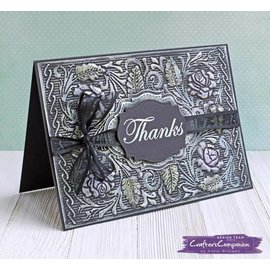 Crafter's Companion 3D embossing map: Engelse roos