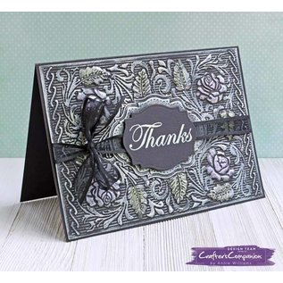 Crafter's Companion 3D Embossing Folder: English Rose