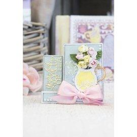 Crafter's Companion Corte e molde de estampagem: Tea party do vintage