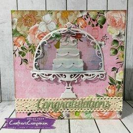 Crafter's Companion Taglio e modello di goffratura: Partito Vintage tè, dolci