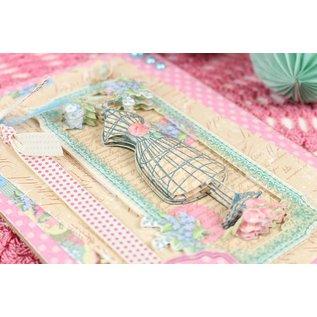 Stempel / Stamp: Transparent Couture Du Jour - Scrapbookingpapier 15,2 x 15,2 cm, 72 ark