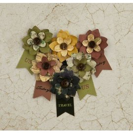 Prima Marketing und Petaloo Prima Flowers Collection: Flower Embellishments