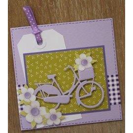Marianne Design Corte e estampagem stencils, bicicleta