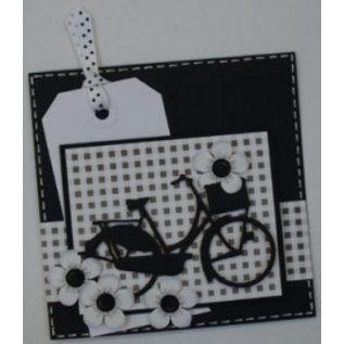 Marianne Design Coupe et de gaufrage pochoirs, vélo