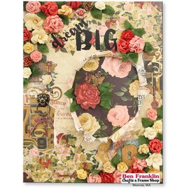 Designer Papier Scrapbooking: 30,5 x 30,5 cm Papier papel Designer, 30,5 x 30,5 cm, Bo Coelho Juliet