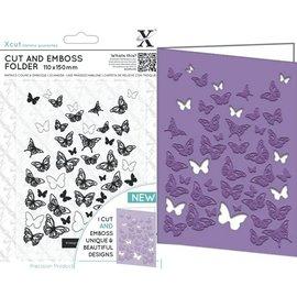 Docrafts / X-Cut Stanzschablonen: Schmetterlinge