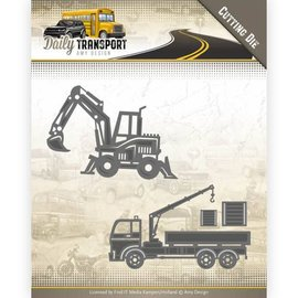 AMY DESIGN Cutting and embossing template: Transportation