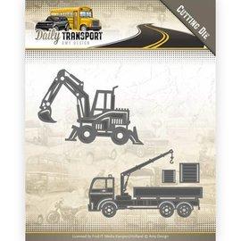 AMY DESIGN Skæring og prægning skabelon: Transport