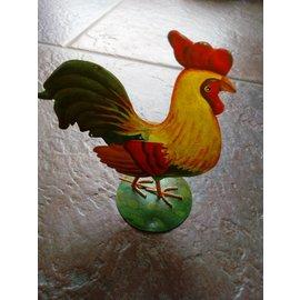 Objekten zum Dekorieren / objects for decorating Decorative hen with nice painting.