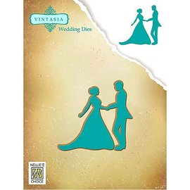 CREATIVE EXPRESSIONS und COUTURE CREATIONS Snij  en embossing sjabloon: Dancing