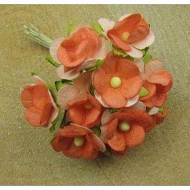 BLUMEN (MINI) UND ACCESOIRES 10 mini Blumchen, størrelse ca 12 mm