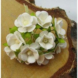 BLUMEN (MINI) UND ACCESOIRES 10 mini flowers, size approx. 12 mm - Copy