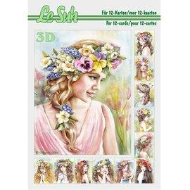 Bilder, 3D Bilder und ausgestanzte Teile usw... 3D Buch A5, für auf 12 Karten!